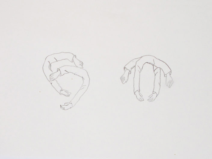 Assorted figurative drawings